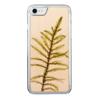 Moss sprout carved iPhone 7 case