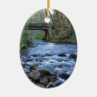 mossy bridge6.jpg ceramic oval ornament
