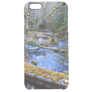 mossy Bridges Near Lake Crescent Lodge Clear iPhone 6 Plus Case