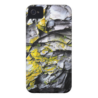 Mossy grey rocks photo iPhone 4 cover