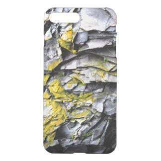 Mossy grey rocks photo iPhone 8 plus/7 plus case