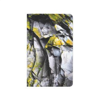 Mossy grey rocks photo journal