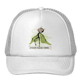 Mossy Haze butterfairy Mesh Hats