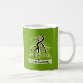 Mossy Haze butterfairy Mugs