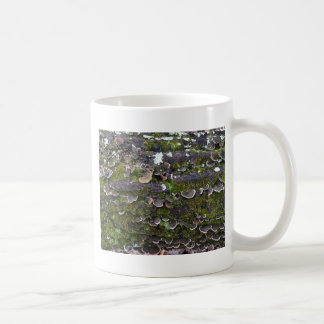 mossy mushroom fun coffee mug