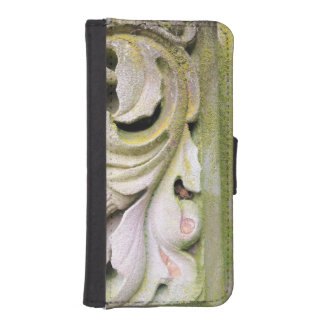 Mossy Stone Leaves iPhone SE/5/5s Wallet Case