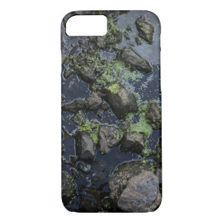 Mossy Stones in a Stream iPhone 7 Case