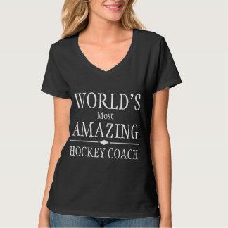 Most amazing hockey coach T-Shirt