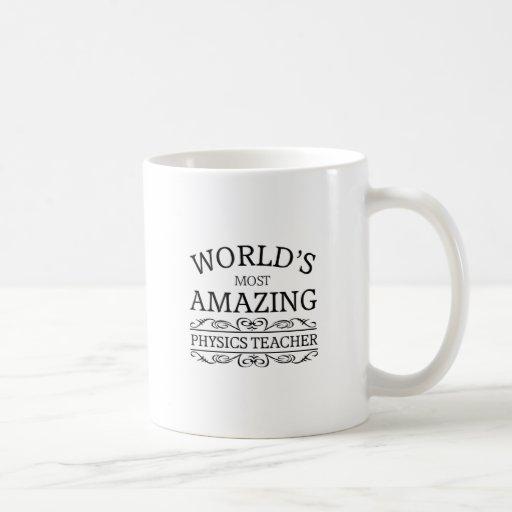 Most amazing physics teacher mug