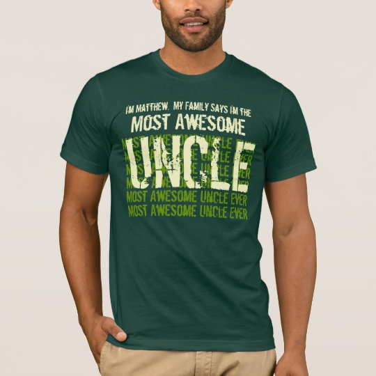 Most Awesome UNCLE Ever Gift Tee for Him V03