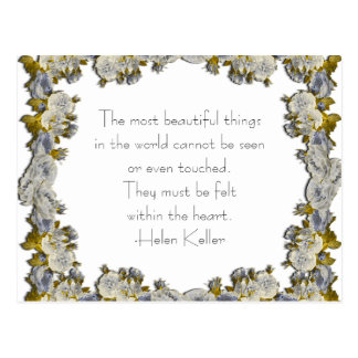 Most Beautiful Things - Postcard