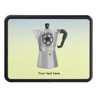 Most coffee wins desin for caffeine addicts tow hitch cover