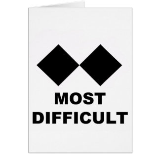 Most Difficult Card