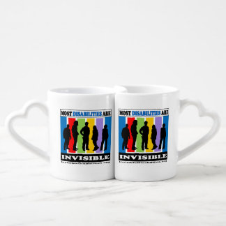 Most Disabilities Are Invisible - Mug Set
