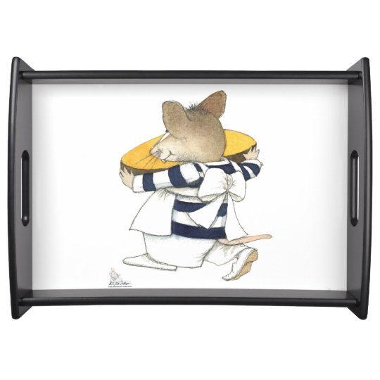 """""""Most gourmet Mouse"""" Breakfast tray. Serving Trays"""