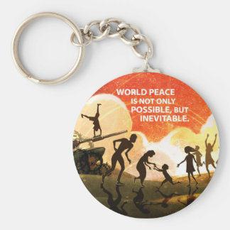 Most Great Peace Keychain