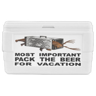 Most Important Is To Pack The Beer For Vacation Cooler