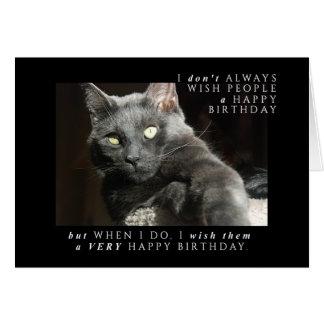 Most Interesting Birthday Wish Card