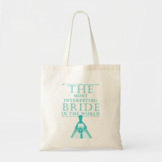 Most Interesting Bride Bachelorette Bag