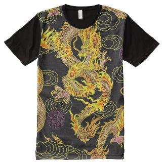 Most Popular Chinese Dragon Neo Art All-Over-Print T-Shirt