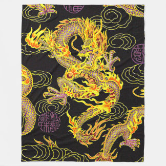 Most Popular Chinese Dragon Neo Art Fleece Blanket