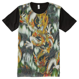 Most Popular Chinese Emperor Dragon Abstract Paint