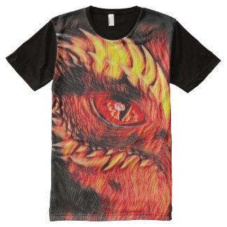 Most Popular Fantasy Demon Eye Airbrush Art
