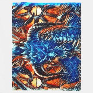 Most Popular Fantasy Dragon Fleece Blanket