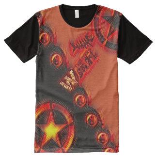 Most Popular War Yin Yang Pop Art All-Over-Print T-Shirt