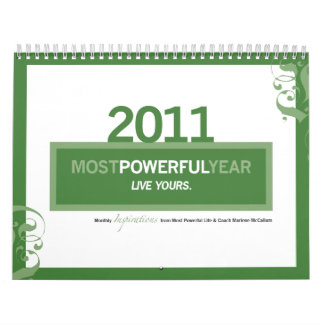 "Most Powerful ""Year"" 2011 Calendar"