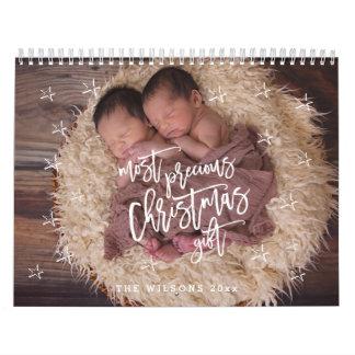 Most Precious Christmas Gift Photo Calendar