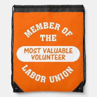 Most Valuable Volunteer Backpacks