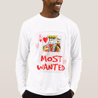 MOST WANTED LOVE Men's Sport-Tek Fitted Performanc T-Shirt