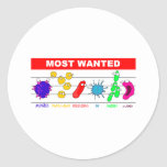 Most Wanted Sticker