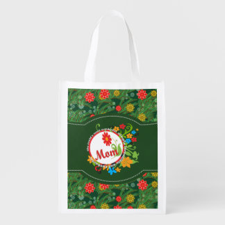 Most Wonderful Simply Incredible Fantastic Mom Reusable Grocery Bags