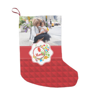 Most Wonderful Simply Incredible Fantastic Mom Small Christmas Stocking