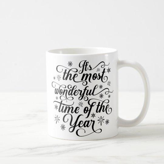Most Wonderful Time of the Year Christmas Gift Mug