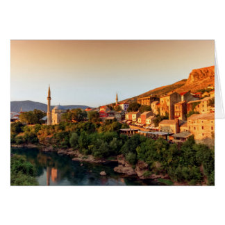 Mostar old city, Bosnia and Herzegovina Card