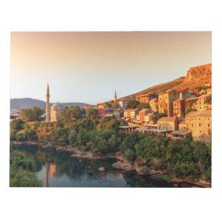Mostar old city, Bosnia and Herzegovina Notepad