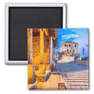 Mostar Old City magnet, Bosnia Magnet
