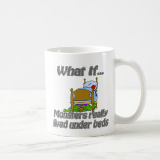 Moster under the bed coffee mug
