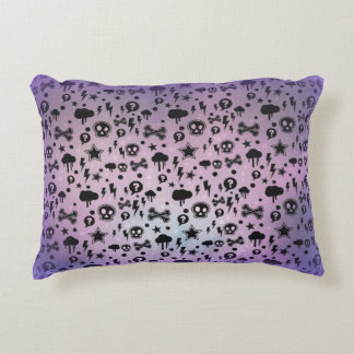 "Mostly Dead Cotton Accent Pillow 16"" x 12"""