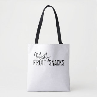 Mostly Fruit Snacks Tote Bag