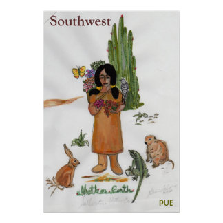 Moter Earth SW 300043, Southwest, PUE Poster