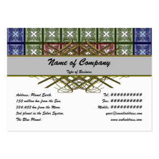 Moth Big RGB Large Business Cards (Pack Of 100)