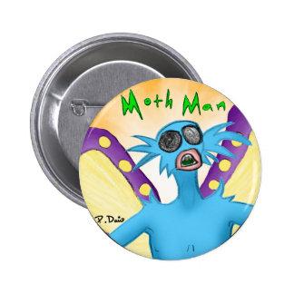 Moth Man Button
