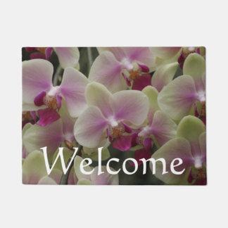 Moth Orchid Yellow Flowers Doormat