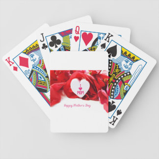 Mother #5 bicycle playing cards