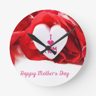 Mother #5 round clock