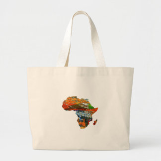 Mother Africa Large Tote Bag